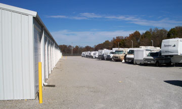 Secure Self Storage for Cars and RVs